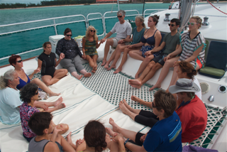 Group Prayer Circle in Bimini