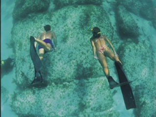 Snorkeling on the Ancient Road of Atlantis
